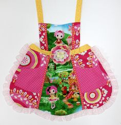 Lalaloopsy Apron by WildOliveKids on Etsy