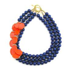 Brings Brightness to Blue necklace #ElvaFields