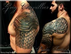What does armor tattoo mean? We have armor tattoo ideas, designs, symbolism and we explain the meaning behind the tattoo.