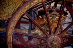 Coche de Passeio - Palácio de Queluz - detalhe / Royal carriage - Queluz Palace - detail