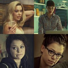 "Rose on Instagram: "" Still I can't believe is just Tatiana Maslany. #OrphanBlack…"