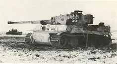 Tigers Ausf.E Western front early 1945 knocked out by a 6 pdr AT gun 5th Kings Own Scottish Borderers near Geilenkirchen. They belonged to Panzer Abteilung 301 (Fkl) . Funklenk (radio control) equipped with Borgward IV demolition vehicles and Goliath.   Flickr - Photo Sharing!