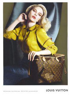 Throwback Thursday | Scarlett Johansson for Louis Vuittons Fall 2007 Campaign