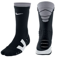 Nike elite vapor cushioned athletic football crew socks black and gray mens Nike Socks, Sport Socks, Football Socks, Basketball Socks, Nike Football, Workout Gear For Men, Nike Shoes Girls Kids, Athletic Outfits, Athletic Clothes