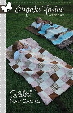 Kids Quilt Nap Sack- or just pattern a quilt like these