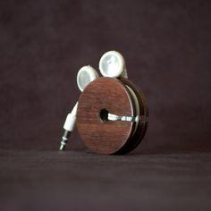 Wood Earbud Organizer - Airows