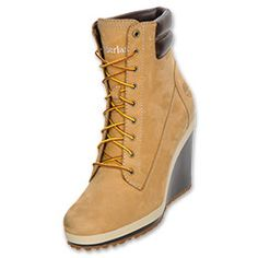 Timberland 6 Springs Point Wedge Women's Boot | FinishLine.com | Wheat