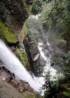 Pailon Del Diablo, Baños de Agua Santa, Provincia del Tungurahua, Ecuador
