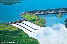 Лучшие инженерные сооружения: «Итайпу́»— плотина, а также вторая по мощности и ...