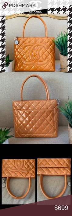 8a331b4dad02 Chanel tote bag orange patent leather bag Width:11.8
