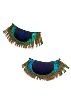 Peacock lashes!
