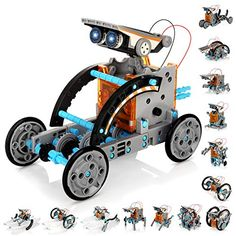 20 Best Selling Toy Robots for Kids | Widest.co.uk Robot Kits For Kids, Robots For Kids, Kids Toys, Science Toys, Stem Science, Solar Power Kits, Kids Study, Interactive Toys, Childrens Gifts