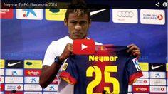 Neymar Barcelona 2014 Neymar fichado por el Barcelona