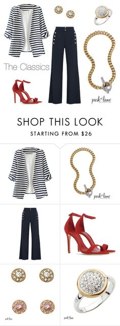 """My Park Lane Style"" by parklanejewelry on Polyvore featuring WithChic, Chloé and Schutz"