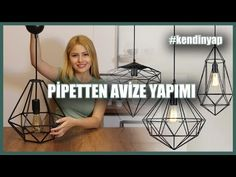 Creative Crafts, Diy Crafts To Sell, Ceiling Lights, Modern, Things To Sell, Design, Youtube, Home Decor, Link