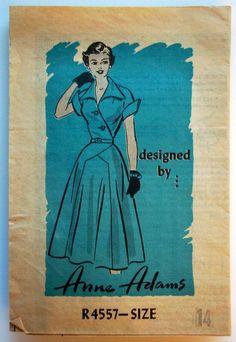 Anne Adams R4557: great lines!