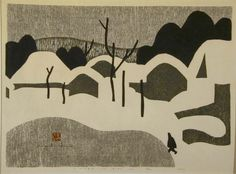 Kiyoshi Saito: Winter in Aizu (A) - Art Gallery of Greater Victoria