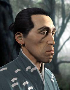 "Seiji Miyaguchi alias Kyuzo from Akira Kurosawas ""Seven Samurai"" - character modelling - ZBrush, 3DS-MAX - 2012"