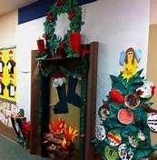 decorating christmas teacher classroom doorway ideas - Bing Images