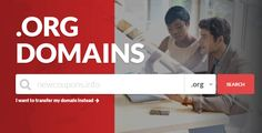 Register Unlimited .ORG Domains For $6.74 Each at Domain.Com   #domaindotcom #org #domain #coupon #deal Coupons, Things I Want, Coding, Coupon, Programming