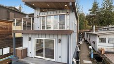 You'll never be sleepless in Seattle! You can be rocked into the blissful REM state each night on Washington's Lake Union in a luxe, brand-new houseboat. Sleepless In Seattle House, Washington Lakes, Houston, I Love House, Lake Union, Floating House, Side Window, Sail Away, Estate Homes