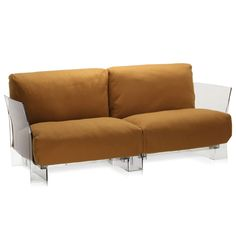 Pop Two Seater Trevira Sofa by Kartell  - Opad.com