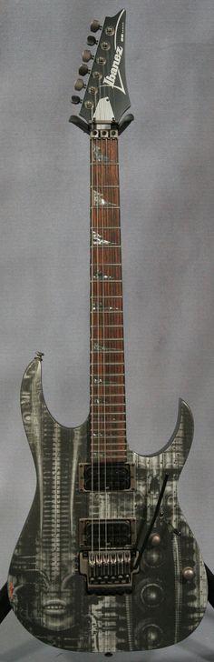 Ibanez RGTHRG2 HR Giger Limited Edition Guitar