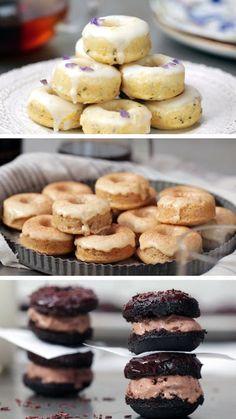 Mini Donuts 3 Ways