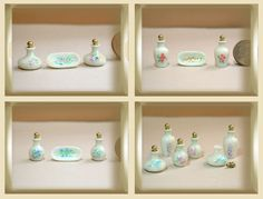 Toiletteries - LxL Cruces miniatures. Tiny jewelry