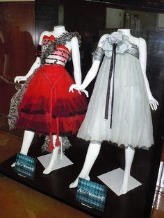 Alice in Wonderland film costume dresses