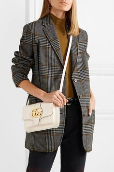 9d228d6f360 Gucci arli medium leather shoulder bag.  gucci  shoulderbags  bags