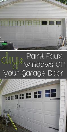 diy garage door makeover with stain | garage doors and doors