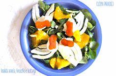 Insalata arancia, finocchio , bottarga di muggine e ricotta all'arancia #cucinaparadiso #light #bottarga #arancia #finocchio #ricotta