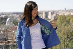 Chaqueta Tello | La pequeña aprendiz Bomber Jacket, Jackets, Fashion, Vestidos, Sewing Tutorials, Down Jackets, Moda, Fashion Styles, Bomber Jackets