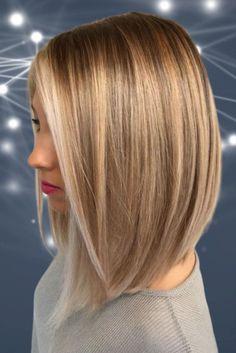 Long Bob Hairstyles For Thick Hair, Layered Bob Hairstyles, Haircuts For Fine Hair, Haircut For Thick Hair, Cool Hairstyles, Cute Bob Haircuts, Brown Hairstyles, Bob Haircuts For Women, Hairstyles Haircuts