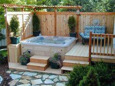 spa pool area ideas - Google Search