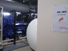 """Proyecto """"llaves en mano"""" de instalación de 4 grupos electrógenos con una potencia de 1100kva en Hospital de Reus.// Turnkey project for the installation of 4 generators with a power of 1100kva in Reus Hospital.// Projet """"clé en main"""" pour l'installation de 4 générateurs d'une puissance de 1100kva à l'hôpital de Reus."""