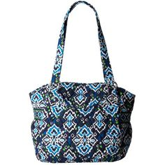 $80.00 Vera Bradley Glenna (Ink Blue) Tote Handbags