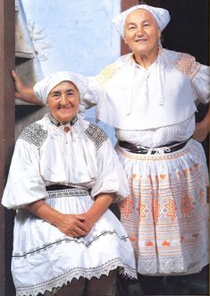 Hello all, Today I will talk about one of the most colorfully embroidered costumes of Slovakia, That of the village of Čičmany and v. Folk Embroidery, Ukraine, Boho Chic, Lace Skirt, Ruffle Blouse, Culture, Clothes, Beauty, Collection
