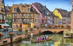 Die zehn schönsten Kleinstädte in Europa: Frankreich, Colmar