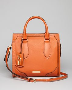 Burberry Satchel - Small Honeywood