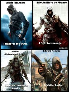 Assassin's creed in a nut shell