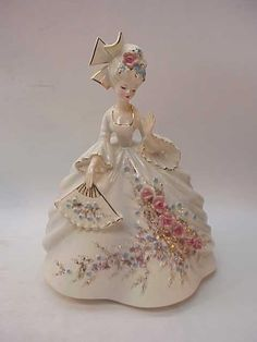 baroque porcelain doll vintage