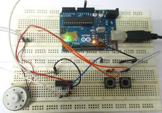 Simple Arduino DC Brushless Motor Fan Speed Control