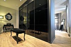 Нанси, Франция, MYSPACEPLANNER, дуплекс фото, мужской интерьер фото, дуплекс на две квартиры фото, черные стены в интерьере фото, стильный интерьер