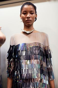 Lineisy Montero Backstage at Phelan Runway Fashion, High Fashion, Fashion Show, Womens Fashion, Fashion Trends, Dress Outfits, Fashion Dresses, Fashion Details, Fashion Design