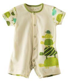Baby Boy Turtle Stack Romper | Hallmark Baby Clothes
