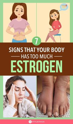 10 Signs That Your Body Has Too Much Estrogen, Which Can Lead To Weight Gain! While it is normal to have high estrogen levels in a pregnant woman or a pre-/ pubescent female body, it isn't healthy for the same to occur Ways To Lose Weight, Weight Gain, Weight Loss, Too Much Estrogen, Estrogen Dominance, Female Reproductive System, Normal Body, Urinary Incontinence, Female Hormones