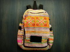 Hand made Thai Hmong embroidered backpack. Style #3 $30.00 at http://www.suredesigntshirts.com