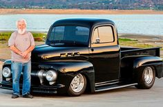 1948 Ford Truck, Ford Pickup Trucks, Drag Racing Games, Performance Tyres, Old Pickup, Vintage Air, Aluminum Radiator, New Tyres, Drag Cars